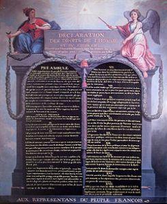 Déclaration des droits de l'homme et du citoyen (August 1789)
